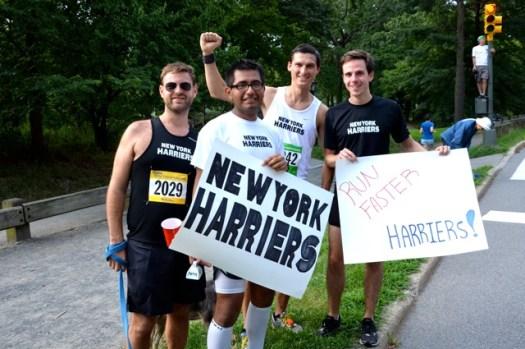running races, New York Harriers