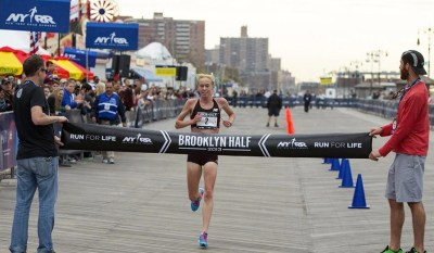 half marathon training, Kim Smith, Brooklyn Half