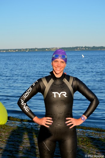 Wild Dog Triathlon, swimming