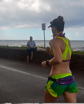 running clothes, Oakley, Kauai Half Marathon