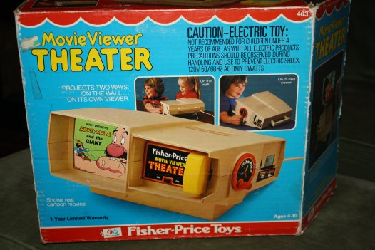 Fisher Price Movie Viewer Theater
