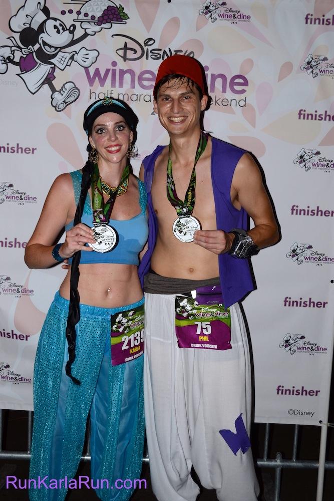 How To Make Aladdin & Jasmine Running Costume