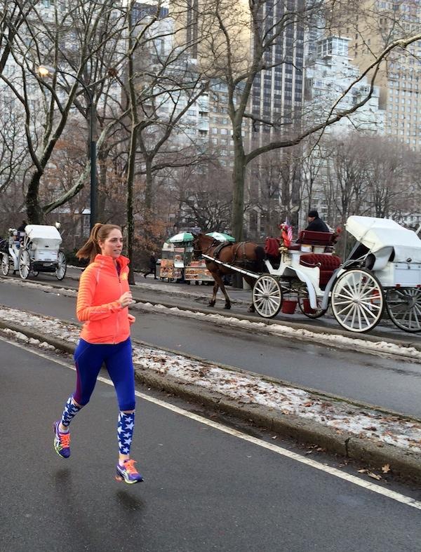 running streak, runner's world, Holiday running