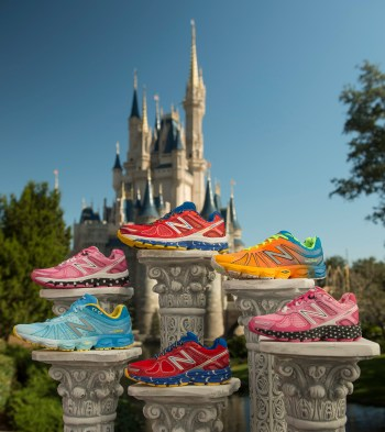 runDisney New Balance shoes