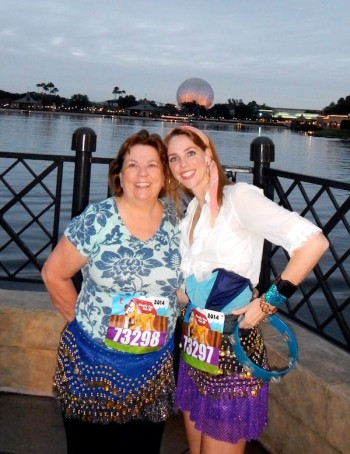 running streak, Disney Family Fun Run 5K