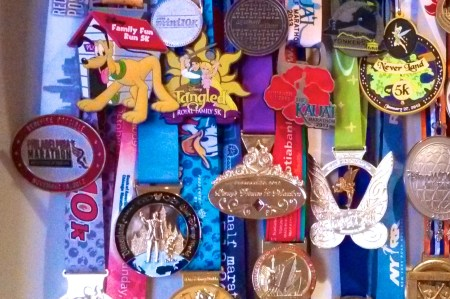 race medal display