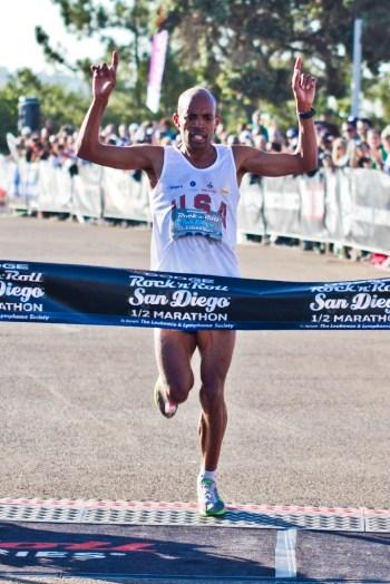 Run With Meb Keflezighi At Rock 'N' Roll San Diego Marathon and Half Marathon