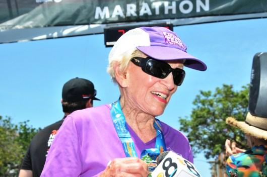 91-Year-Old Runs Age Group World Record Marathon