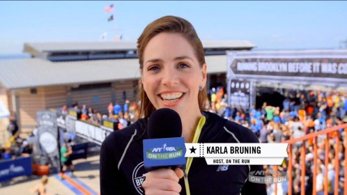 On The Run at the 2014 NYRR Brooklyn Half Video