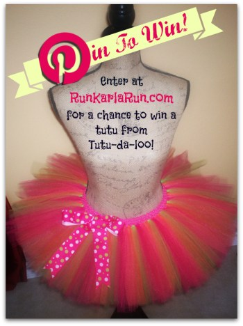 Giveaway: Win A Running Tutu From RunKarlaRun.com and Tutu-da-loo!