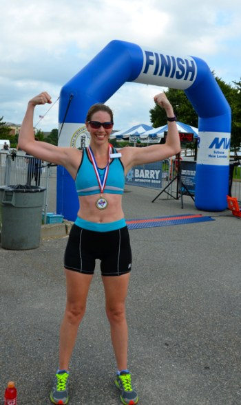 Race Report: Naval Station Newport Sprint Triathlon
