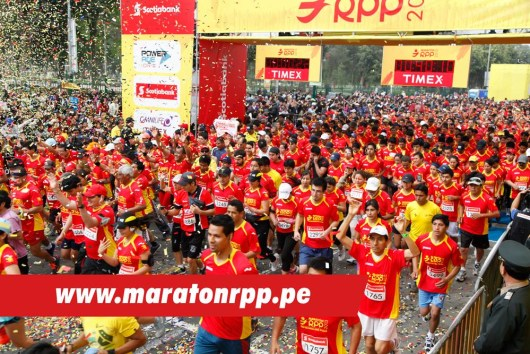 Running the Marathon RPP Scotiabank in Lima, Peru