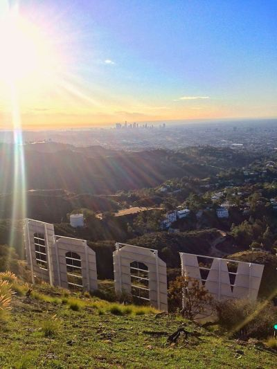 Griffith Park Run To The Hollywood Sign