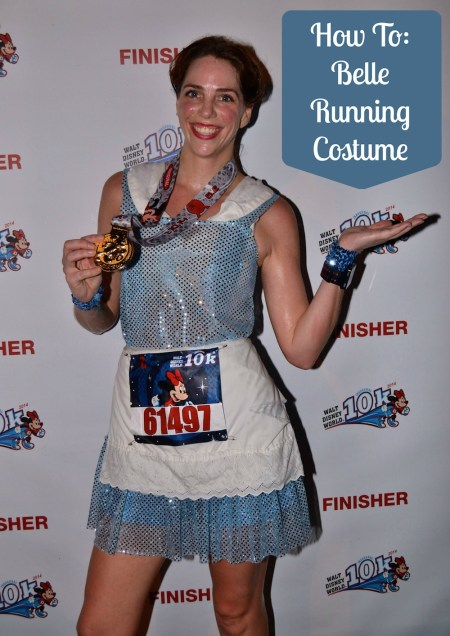 "How To Make ""Beauty & The Beast"" Belle Running Costume"