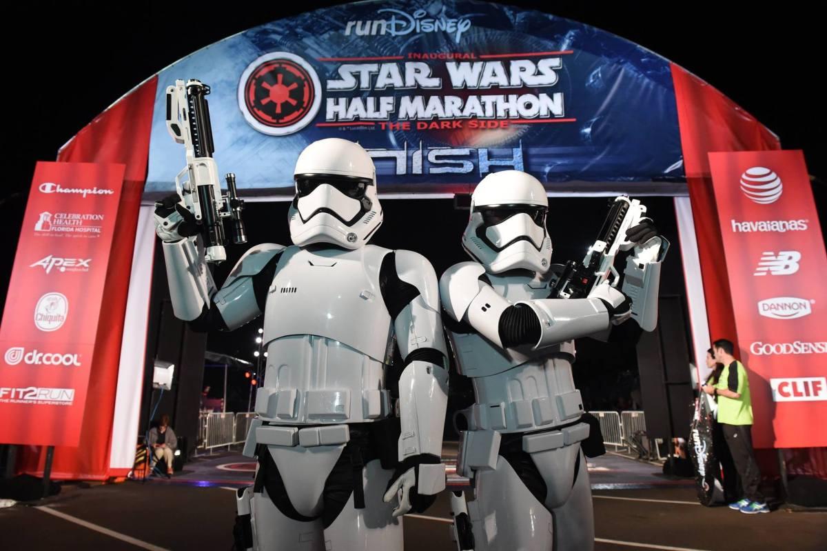 Race Report: Star Wars Half Marathon—The Dark Side