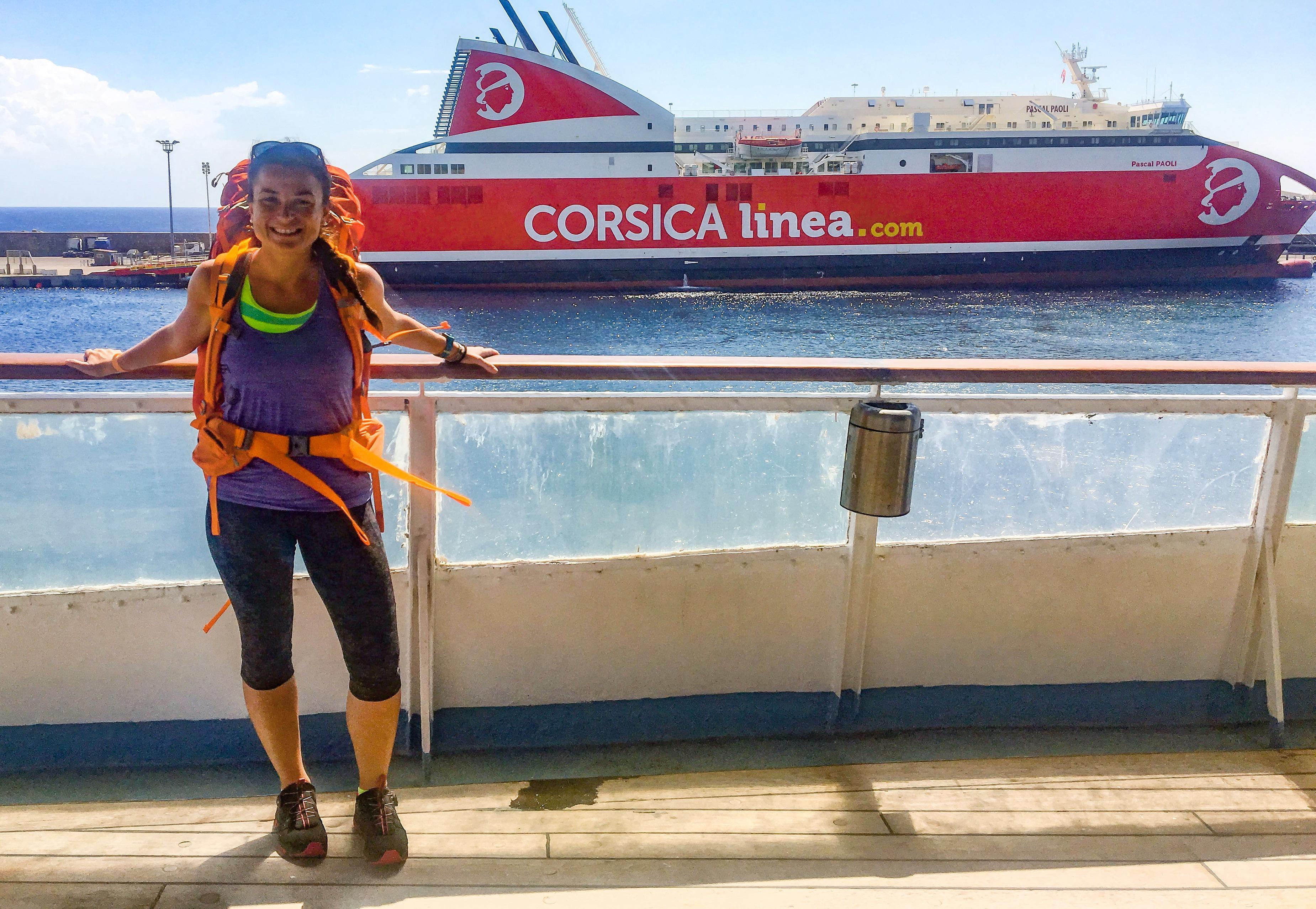 Partenza per la Corsica: GR20