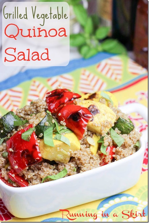 Healthy Cookout Recipes - Side Dishes | Running in a Skirt