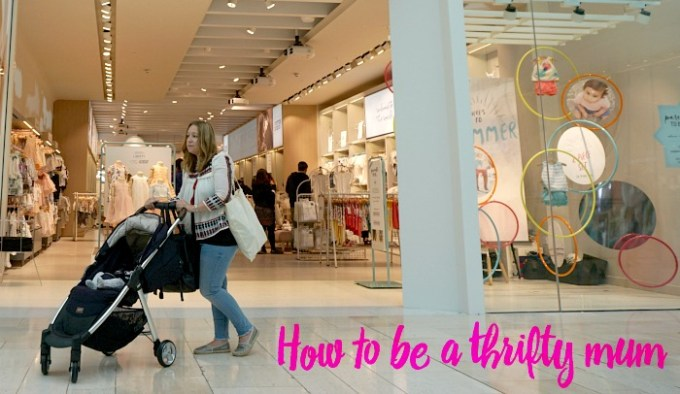 How to be a thrifty mum and not look cheap!
