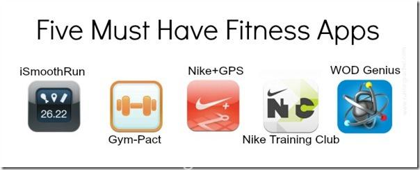 five must have fitness apps