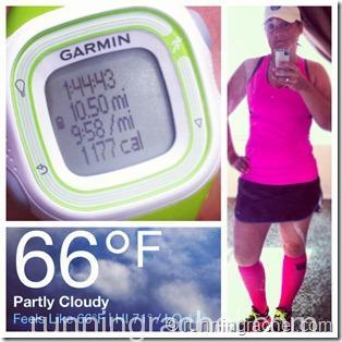 3/2 - solo WARM 10.5 mile run