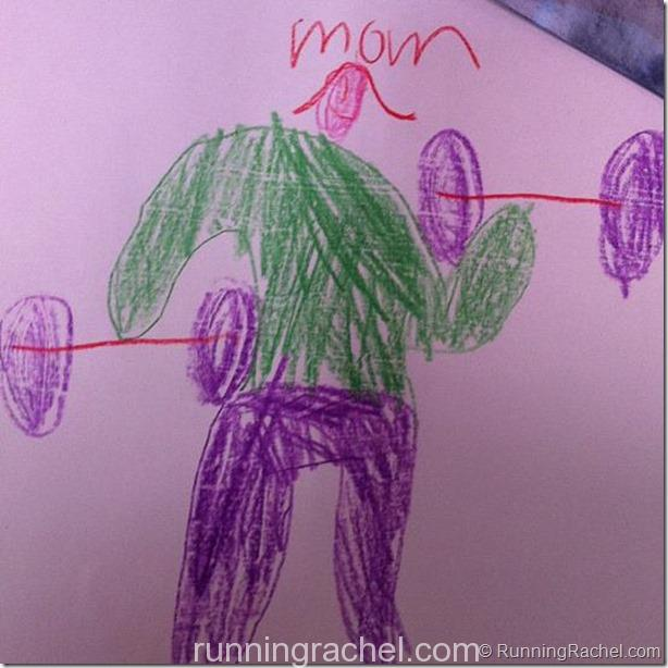 mom from my son's view