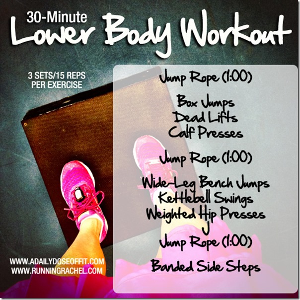 30 Minute Lower Body Workout
