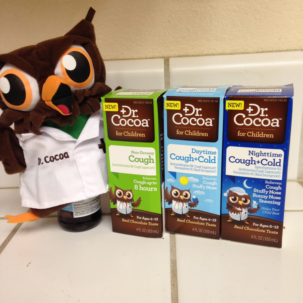 Children's Cough and Cold Relief with a Smile from Dr. Cocoa