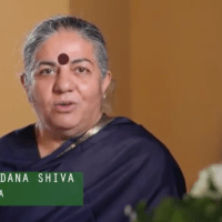 Dr. Vandana Shiva March Against Monsanto