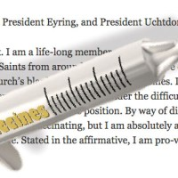 The Mormon Church and Vaccines: A Letter to the First Presidency