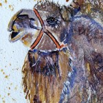 Watercolour painting. Sand Lover (LBW005). Artist: Lorraine Brown