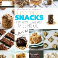 . 14 allergy friendly snacks that won't leave you missing out .