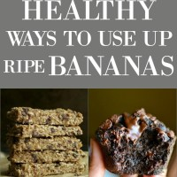 15 healthy ways to use up those ripe bananas