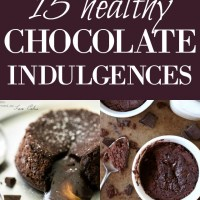 15 healthy chocolate indulgences
