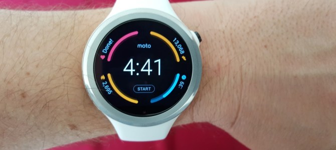 Gear Review: Motorola Moto 360 Sport