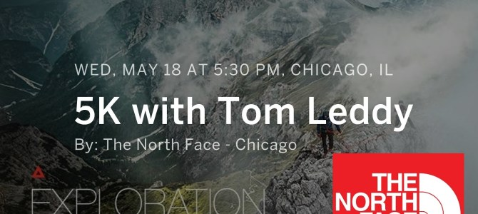 Join me and The North Face for a free 5K in Chicago