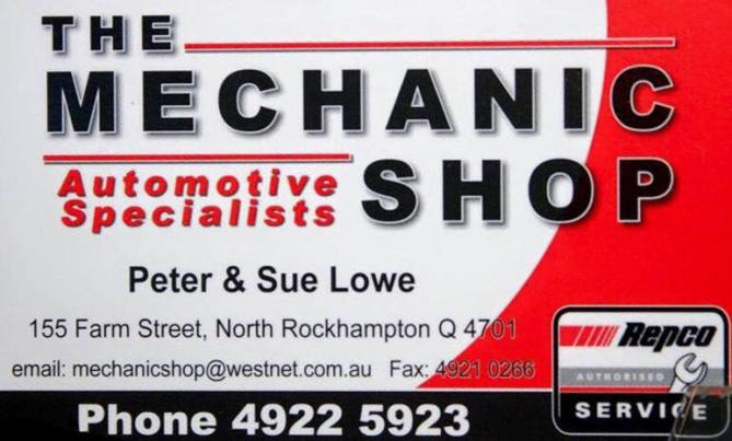 The Mechanic Shop Rockhampton
