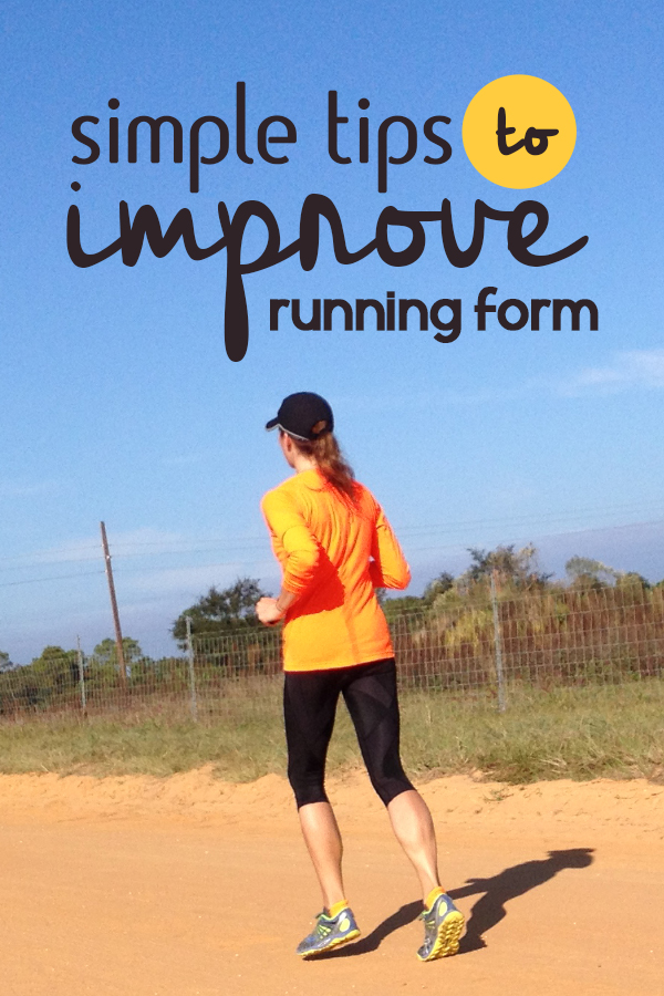 4 Simple Tips to improve your running form today - allowing you to run faster and injury free