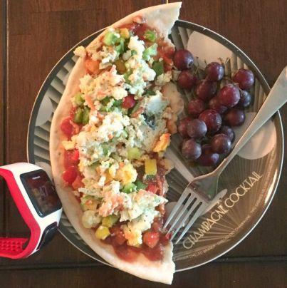 Healthy Breakfast Pizza Ideas - Gluten free high protein breakfast options