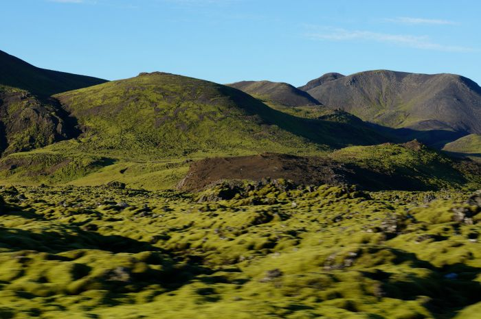 Beautiful drive around Iceland
