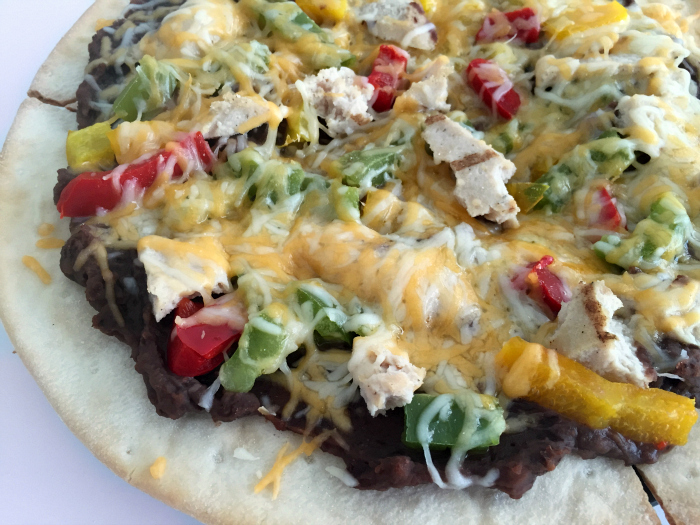 Healthy make at home pizza options