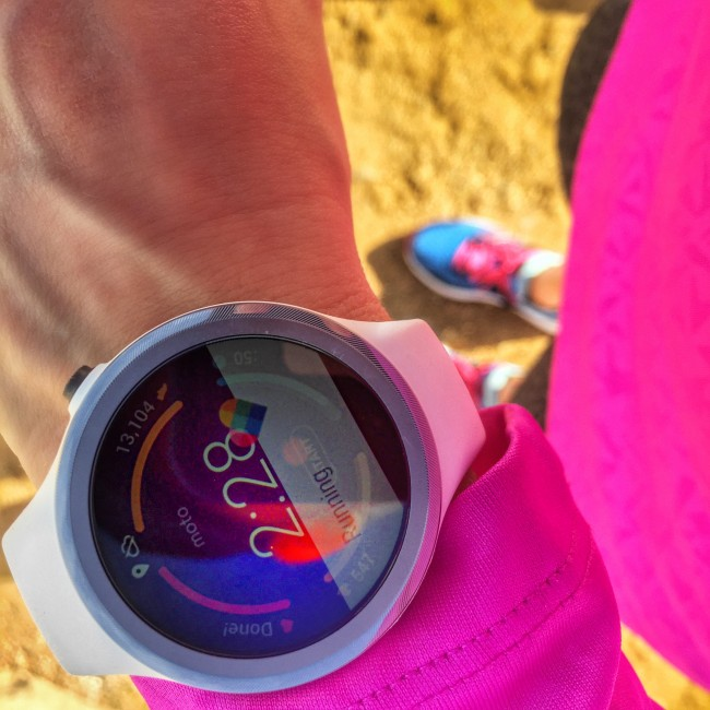 Moto 360 Sport Watch Review - GPS and HR through the strap