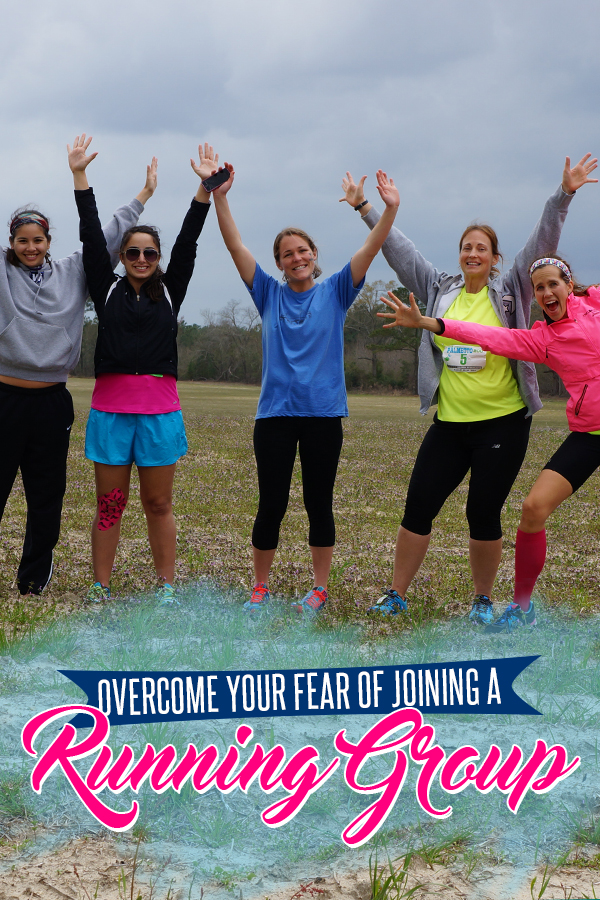 Simple tricks to overcome your fear of joining a running group - plus how to find one and who needs one
