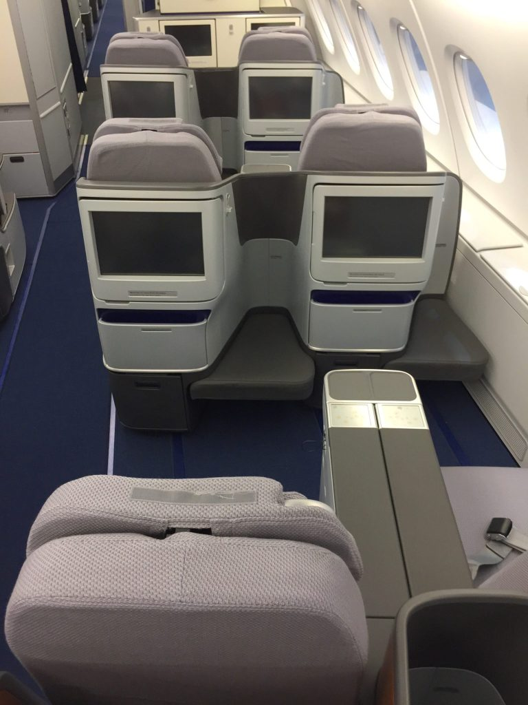 lufthansa s airbus a380 refurb shows the airline s direction five. Black Bedroom Furniture Sets. Home Design Ideas