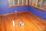 Our latest project is restoring the wood floors from 1950!