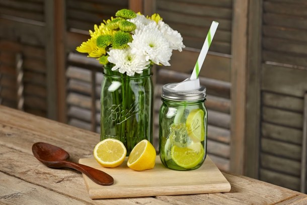 """Ball Heritage Collection Spring Green Jars #Giveaway 