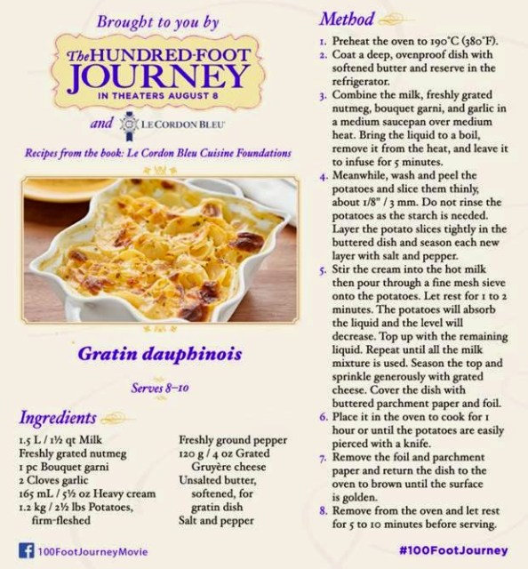 Gratin dauphinois recipe foodiefriday rural mom - Le cordon bleu cuisine foundations ...