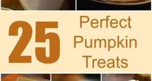 25 Perfect Pumpkin Treats for Fall!