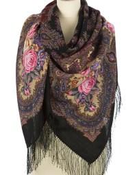 Wool shawl ''Spanish wine'' | RusClothing.com