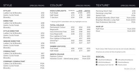 Salon Prices For Ombre Hair