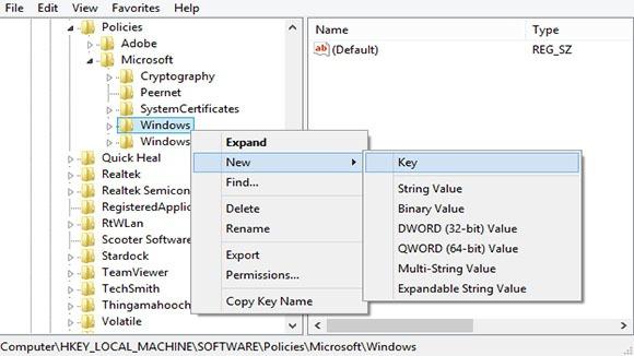 menonaktifkan windows 8 layar kunci